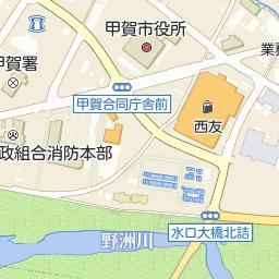 バス停周辺地図 ジョルダン